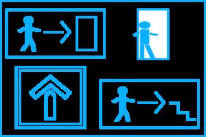 Icon Sicherheitsbeleuchtung