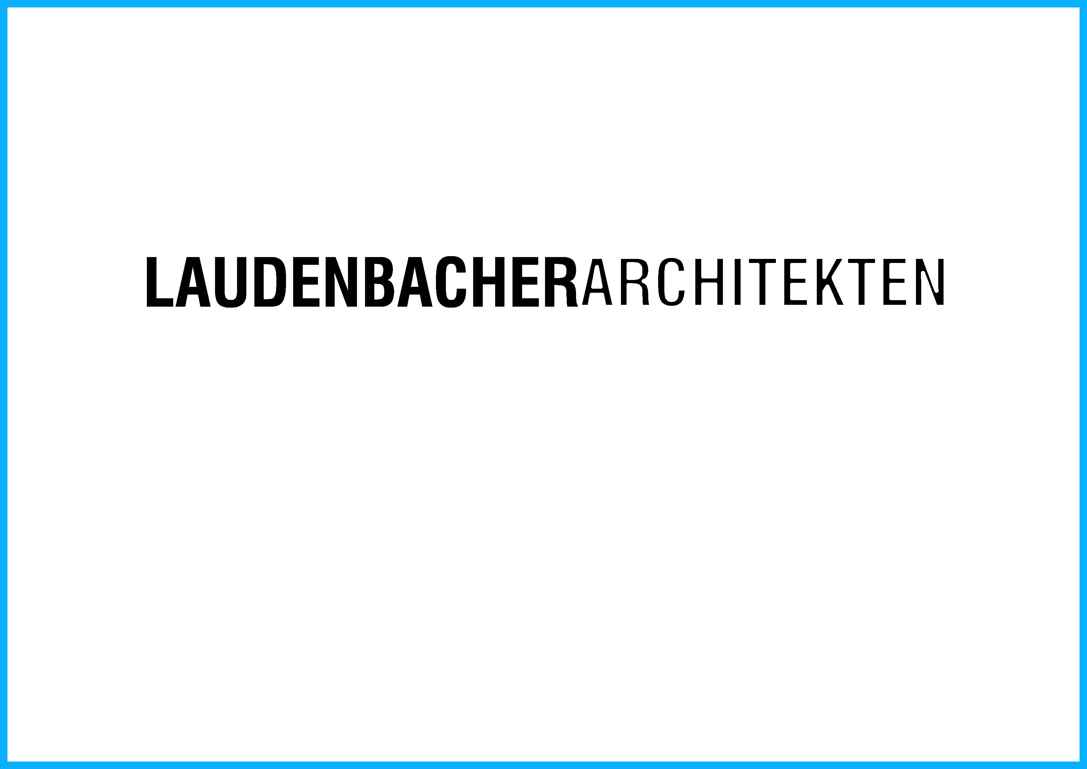 LOGO LAUDENBACHERARCHITEKTEN